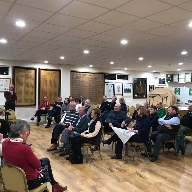 Successful Dementia awareness evening at Holt Rugby Club