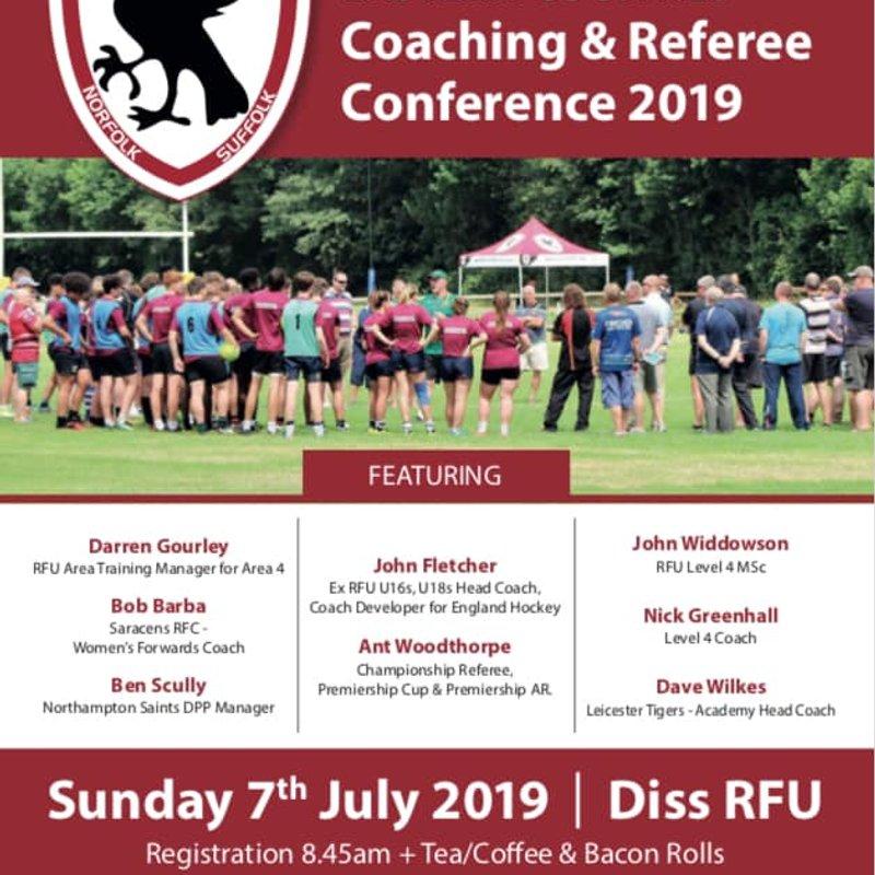 ECRU Coaching & Referee Conference 2019