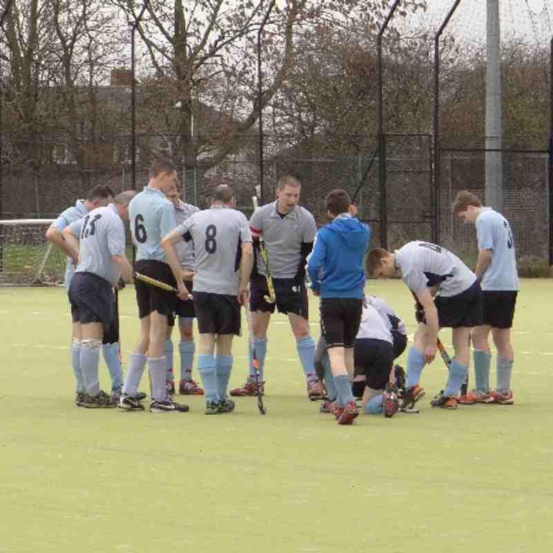 Men's last game of season vs Durham Citgy