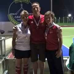 3 medals at the Masters