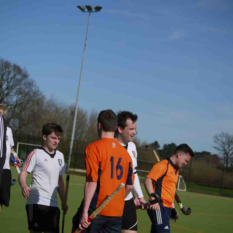 Men's 2s vs Crowborough 1s