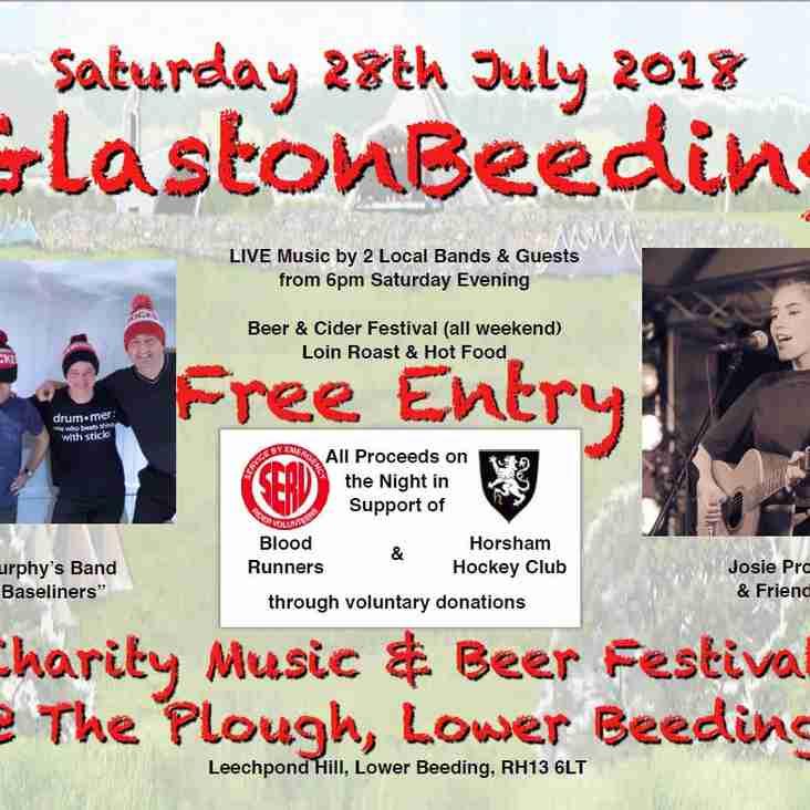 GlastonBeeding 28th July 2018