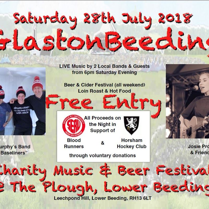 GlastonBeeding 28th July 2018