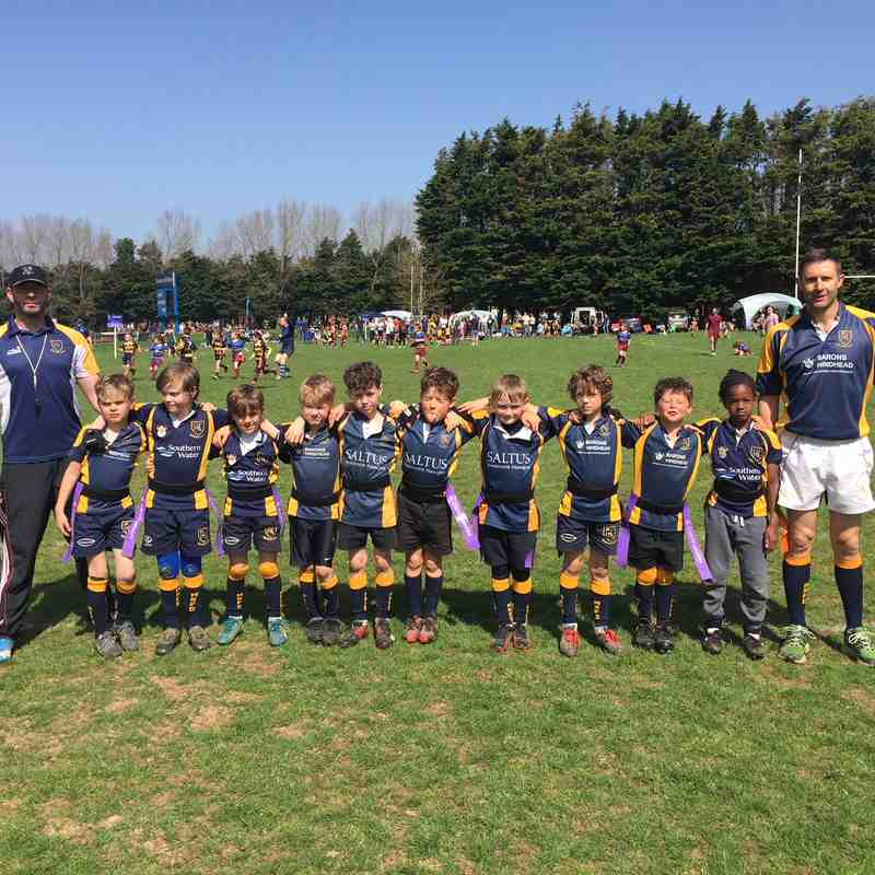 U8s at Worthing Festival 2018