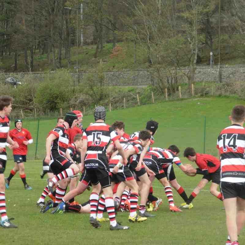 U15 vs Stirling 17.4.16