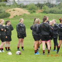 U18 Ladies Leister Tigers trip