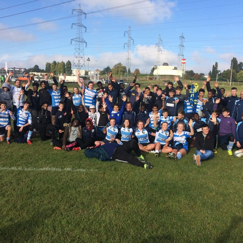 Warly U18 Girls / U16 / U15 / U14 are back from AAS Sarcelles Rugby France Tour 2016