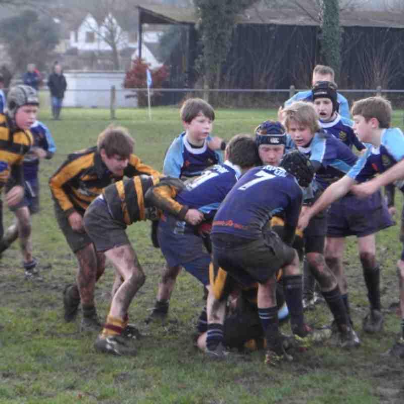 Ripon U13 v Wensleydale 6th Jan 2012