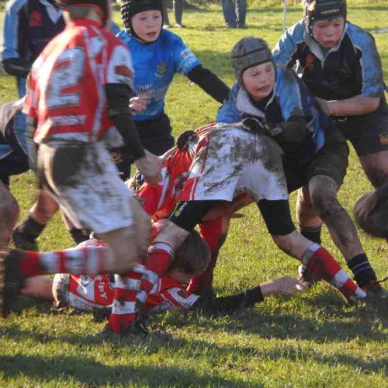 U11 Yorkshire Cup Qtr Final v Wetherby 13th Jan 2012