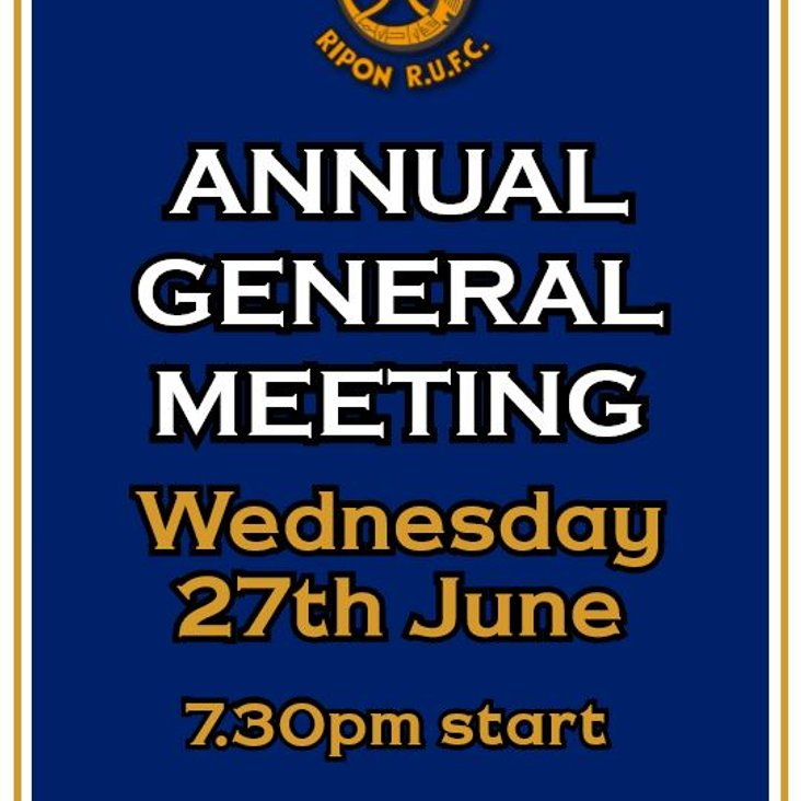 AGM Election of Officers<
