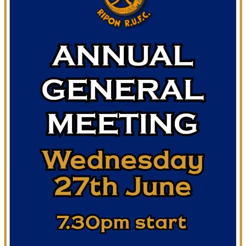 AGM Election of Officers