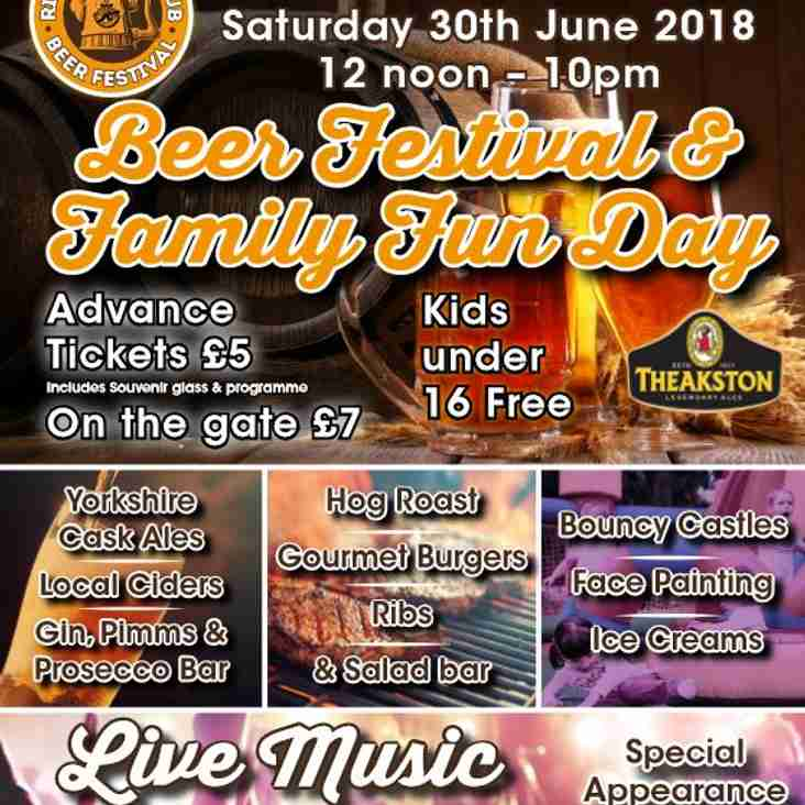 Come Along to the Beer Festival