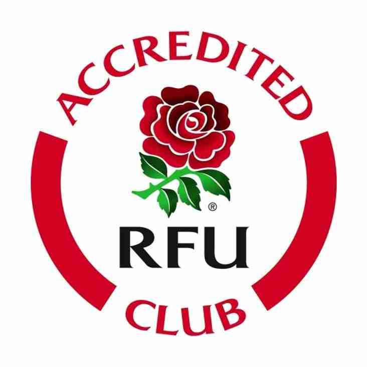 Ripon RUFC Retains Club Accreditation