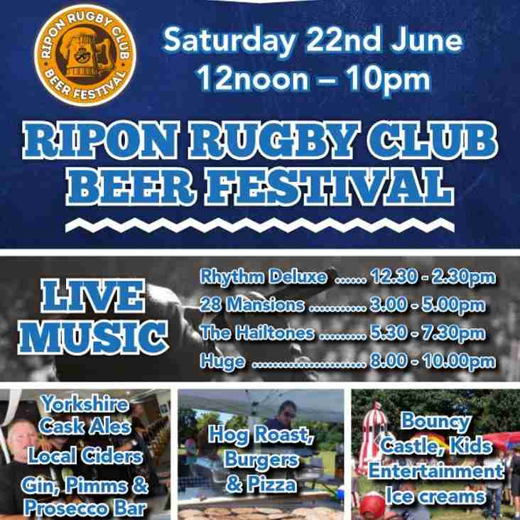 Beer Festival Tickets Now On Sale