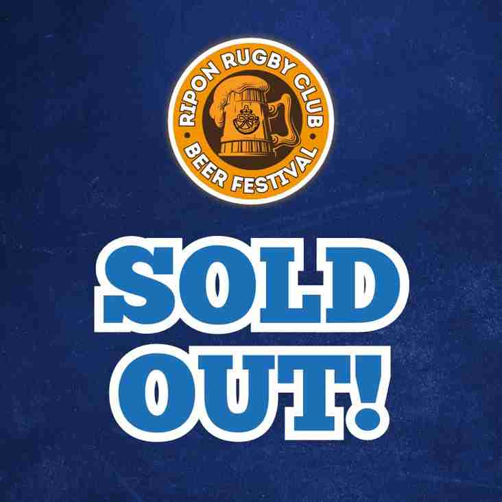 Beer Festival - SOLD OUT