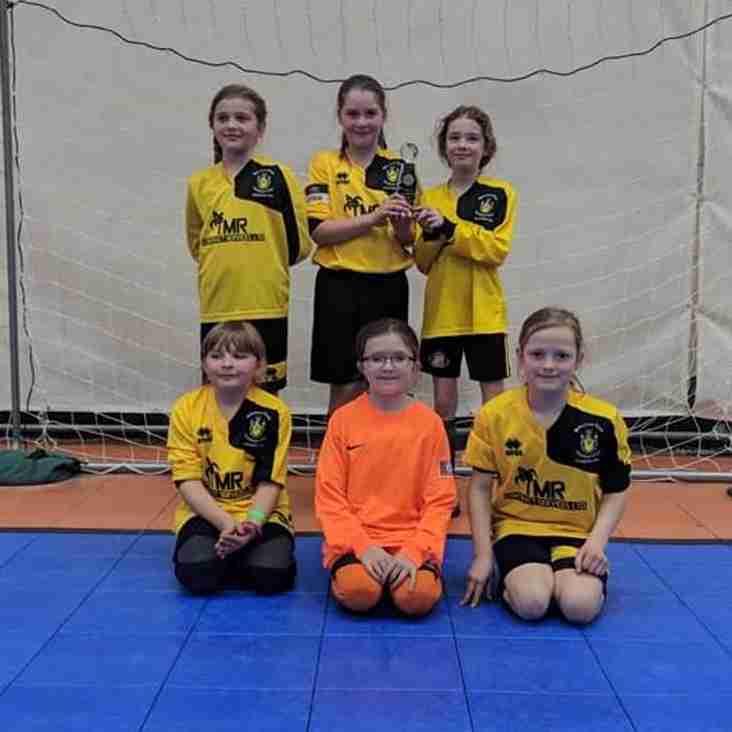 U10 Girls- Wiltshire U10 Futsal Champions