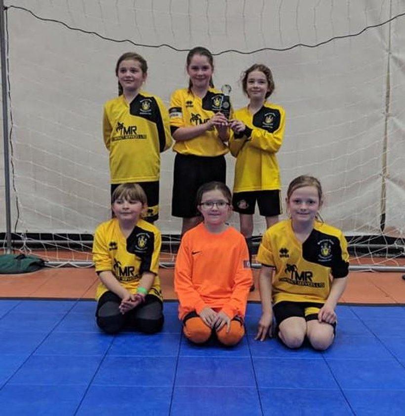U10 Girls- Wiltshire U10 Futsal Champions - News - Melksham Town ... 96ebebd3b9de2