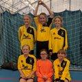 Melksham Town U10 Girls Regional Futsal Winners