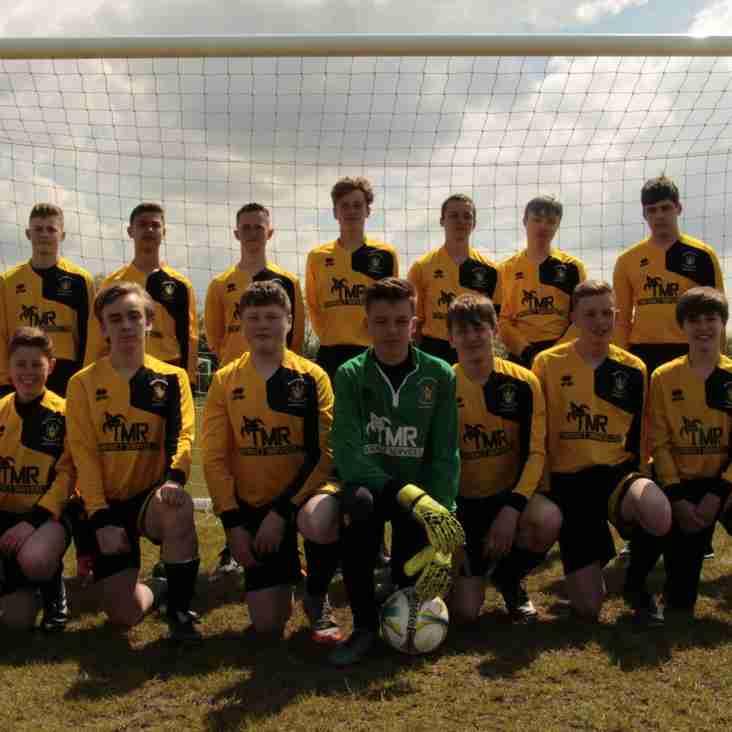 MTFC U15's win sportsmanship award!