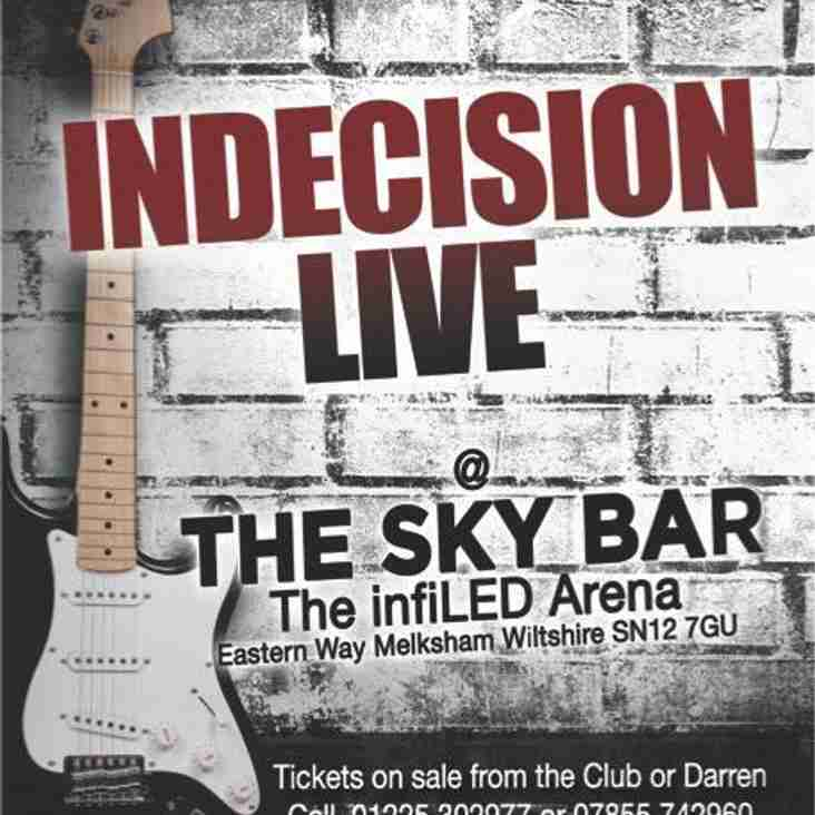 New Years Eve- Indecision Live in the SkyBar