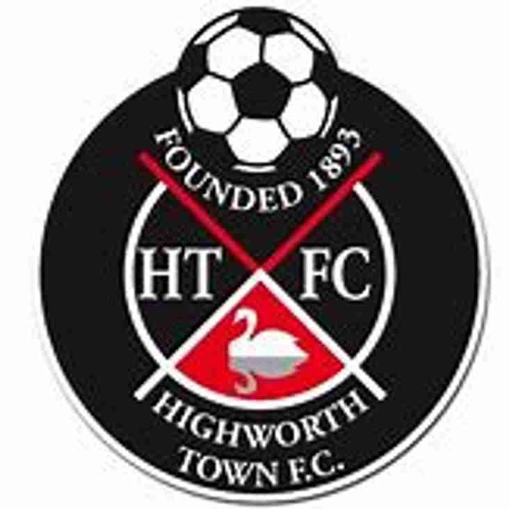 Next Up- Highworth Town V Melksham Town