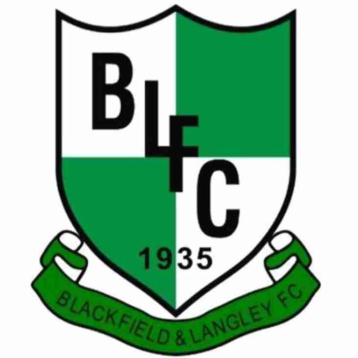 Next up- Melksham Town V Blackfield & Langley FC