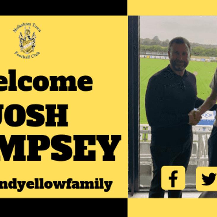 New signing- Josh Dempsey
