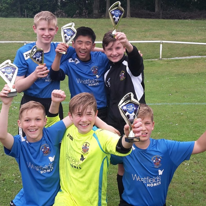 Under 13s finish Runners-Up at Buntingford