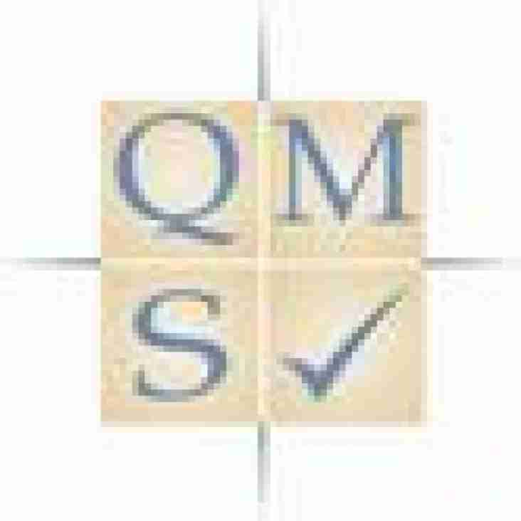 Sponsored by QMS offering ISO9001, ISO14001, ISO27001 certifications