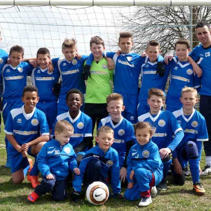 Kirkley Wildcats v FC bradwell 19/04/2015