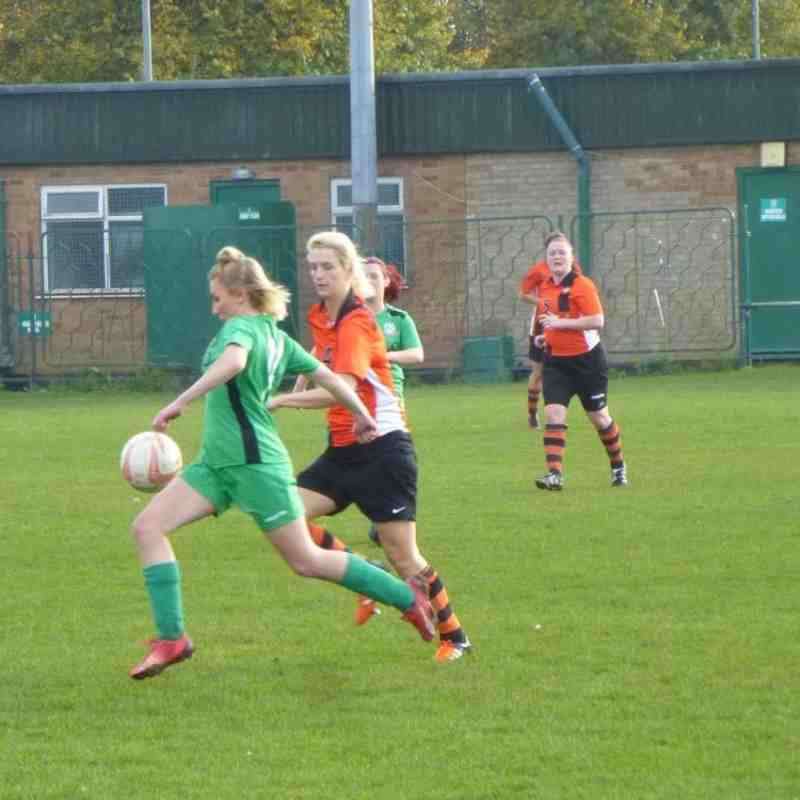 Gorleston Ladies v Sprowston Ladies - Sun 30 Oct 2016