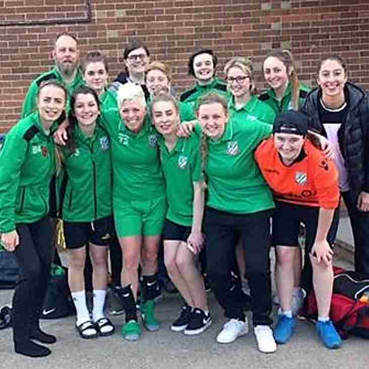 Ladies Win the Title