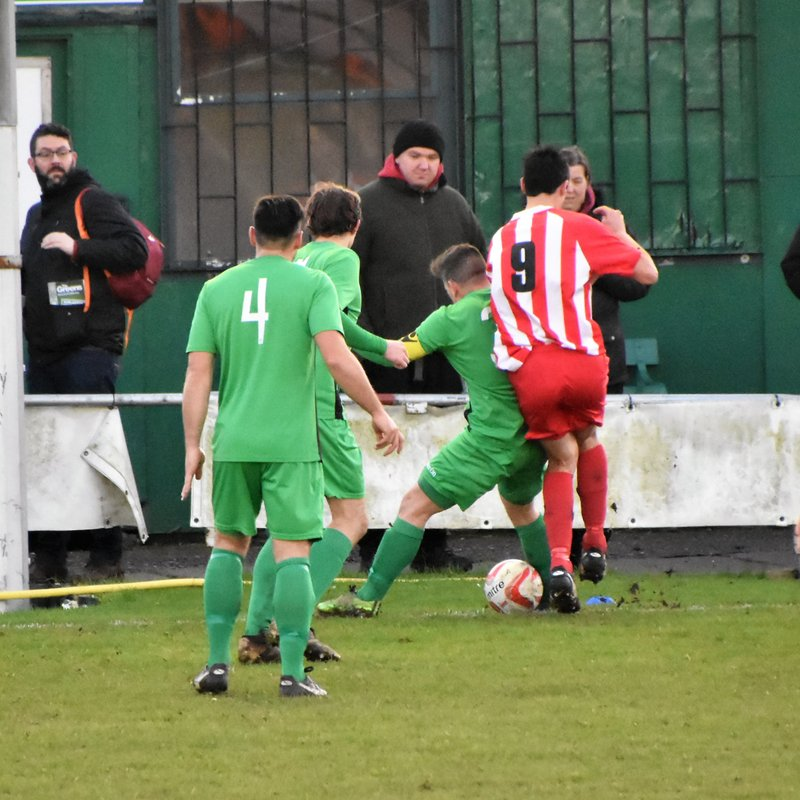 Spirited Comeback not enough as Vase Dream Dashed