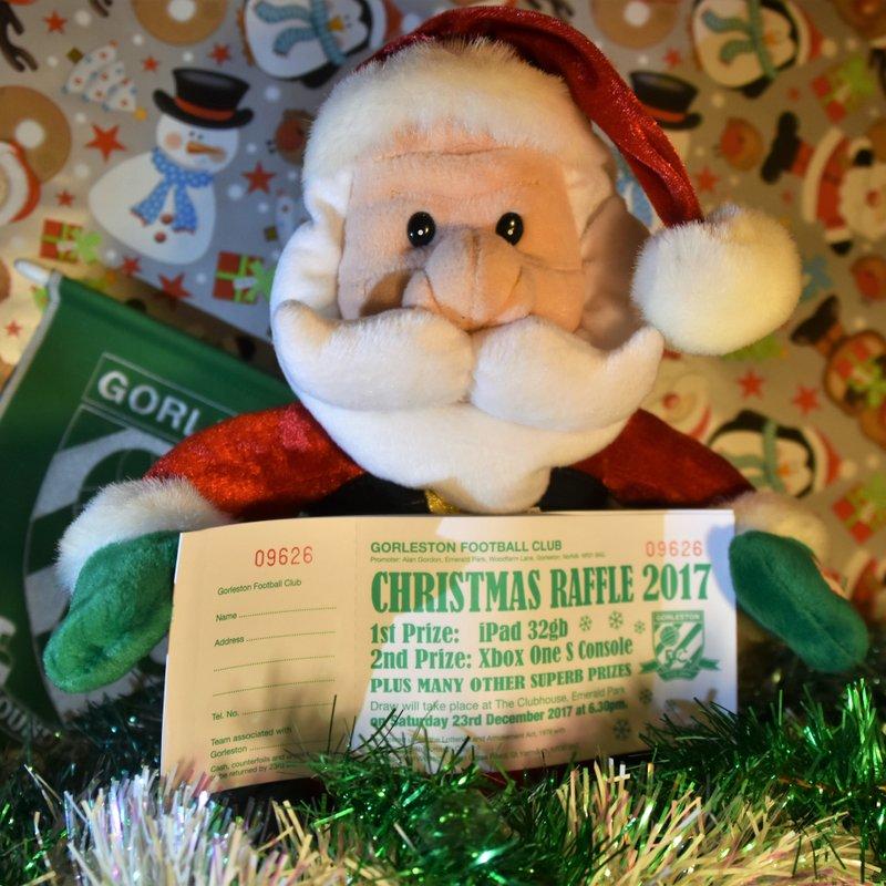 Christmas Raffle 2017