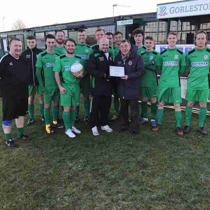 Reserves Team of the Month