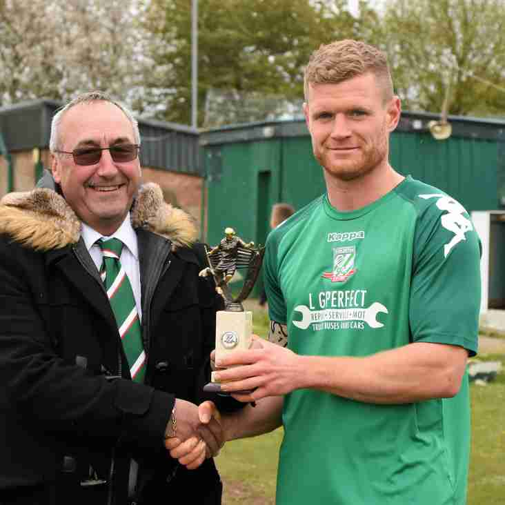 Supporters Player of the Season Results