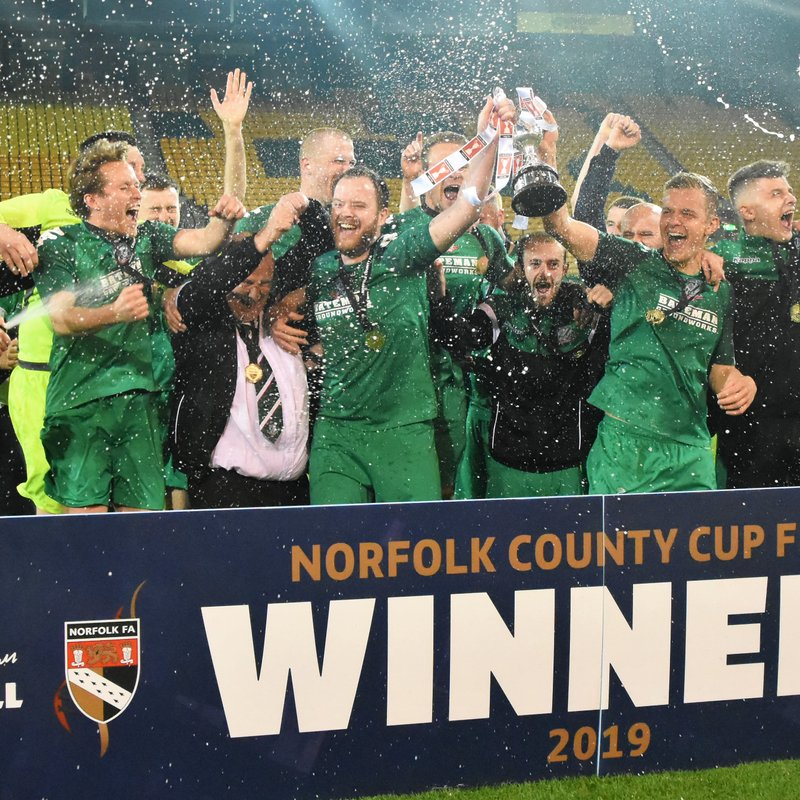 Reserves Lift the Junior Cup