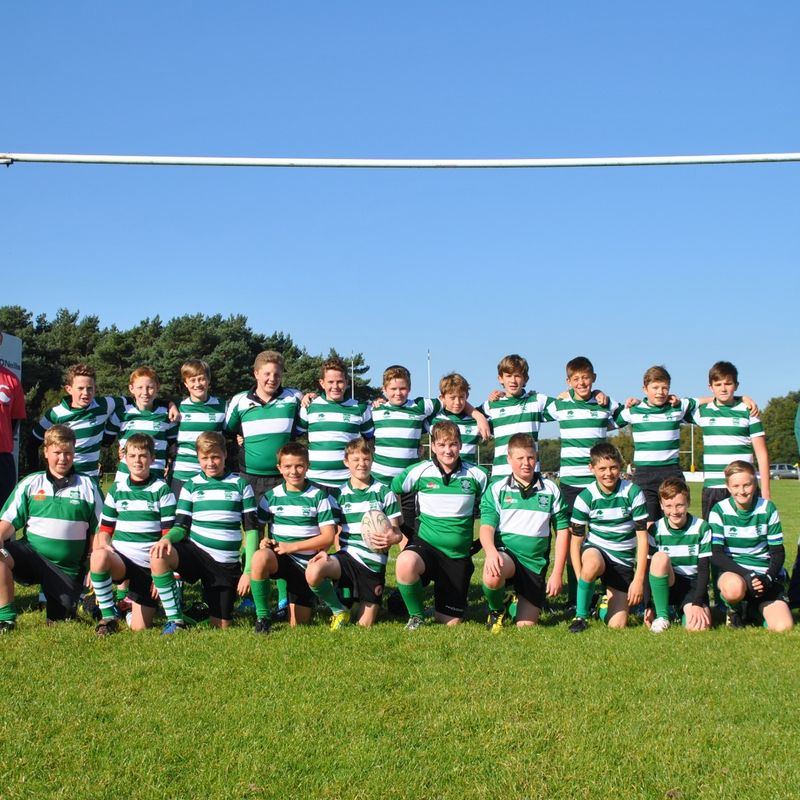 Under 14 beat Taunton  43 - 15