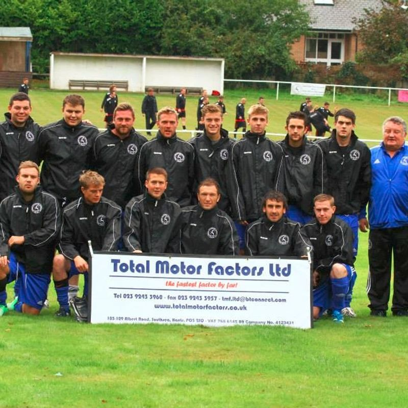 1st Team lose to Hailsham Town Fc 0 - 4