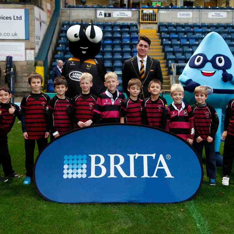 U8s at WASPS Oct 2014