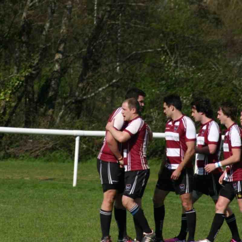 Taunton United v Keynsham 2nds 28/4/2013 - Millsy's last game
