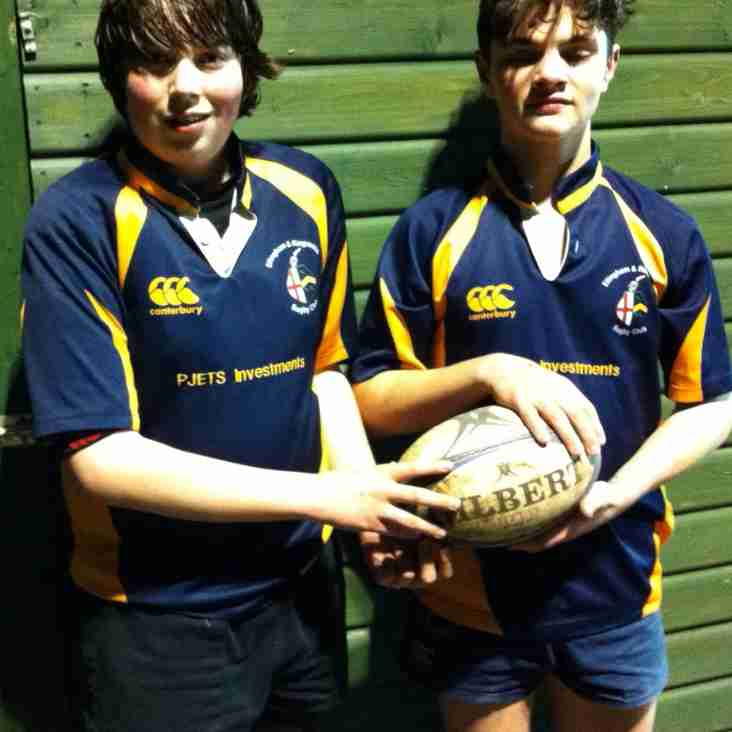 Two U14s selected for County honours