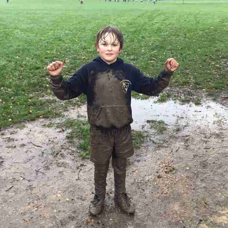 It's a bit muddy