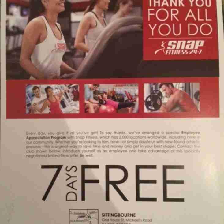 Gym Membership @ SNAP