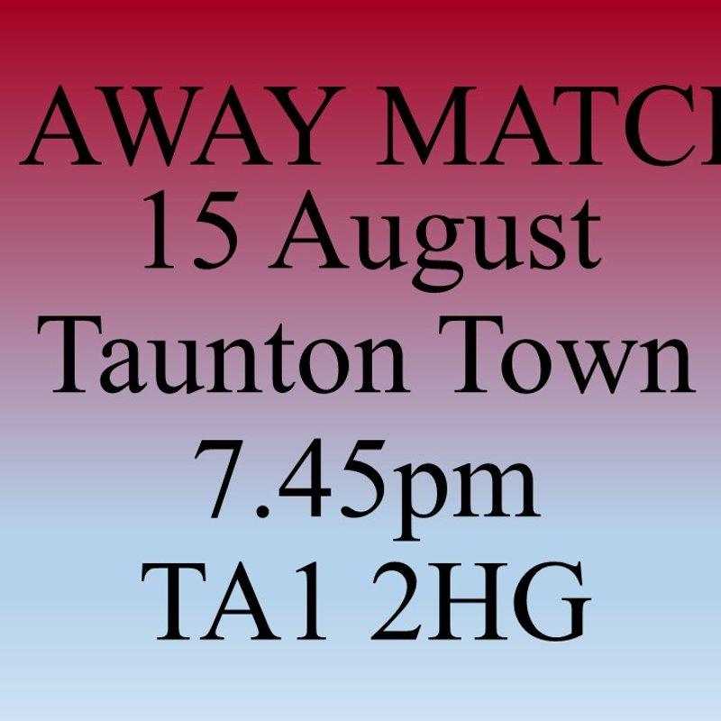 Taunton Town Preview