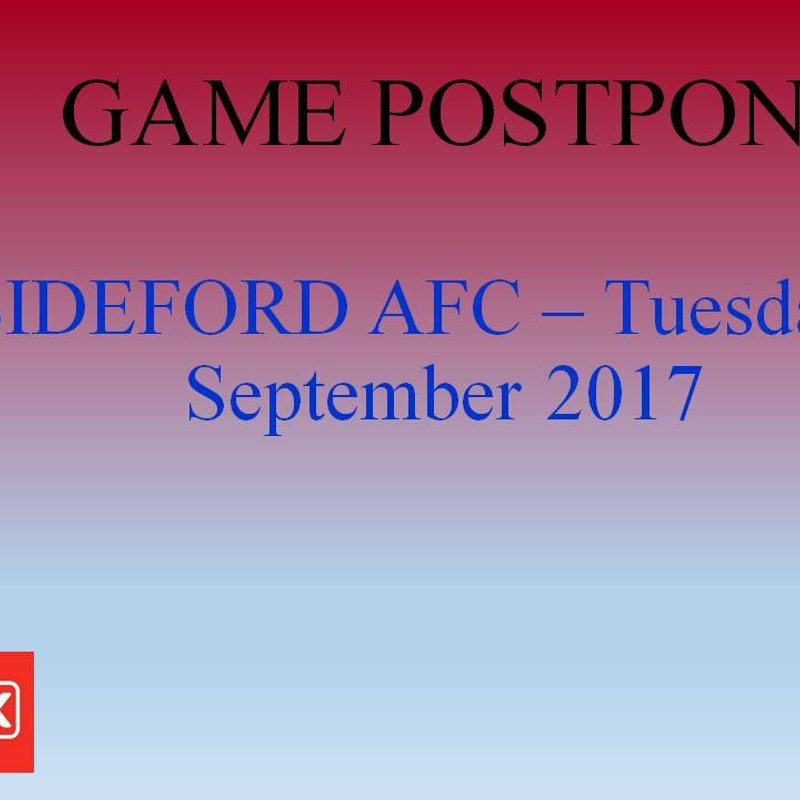 Next Home Game postponed