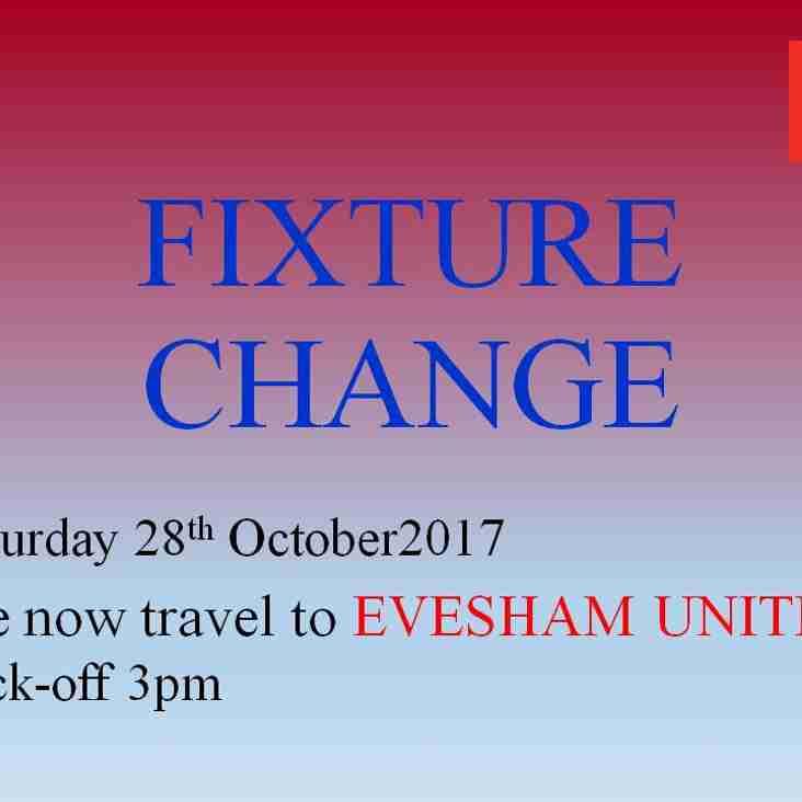 Fixture Change