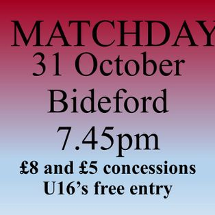 Mangotsfield United...1   Bideford AFC...1