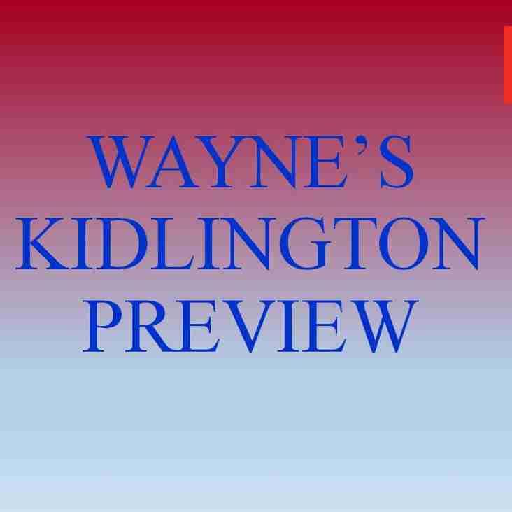 Kidlington Preview