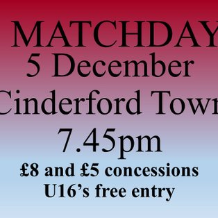 Mangotsfield United...1  Cinderford Town...1